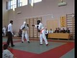 Вырубил с ноги на турнире по каратэ. Ученик стиля Sen Rya Kempo Kan Михаил Саломатин